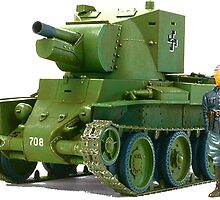 BT-42, Finnish Battle Tank by boogeyman