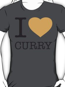 I ♥ CURRY T-Shirt