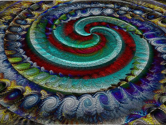 Spiraling Spirals of Spirals by barrowda