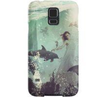 The Sea Unicorn Lady Samsung Galaxy Case/Skin