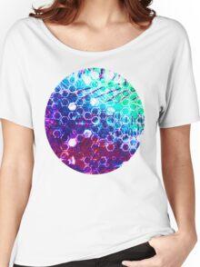 honeycomb effect Women's Relaxed Fit T-Shirt