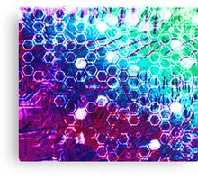 honeycomb effect Canvas Print
