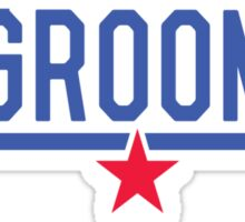 Top Groom Sticker