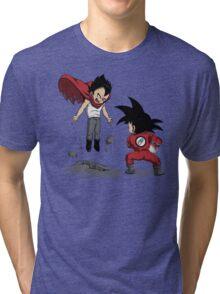 Anime Fight Tri-blend T-Shirt