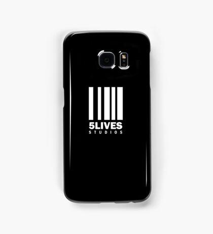 5 Lives Studios White Samsung Galaxy Case/Skin