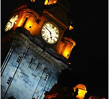 The Balmoral Clock Tower by Francis  McCafferty