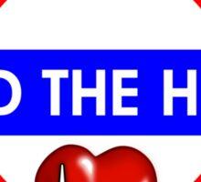 Mind The Heart Sticker