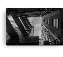 Between Buildings (2) Canvas Print