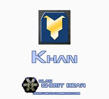 Clan Ghost Bear Rank: Khan Unisex T-Shirt