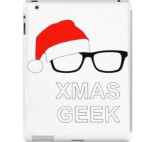 XMas Geek iPad Case/Skin