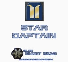 Clan Ghost Bear Rank: Star Captain by CGBCoffiNail