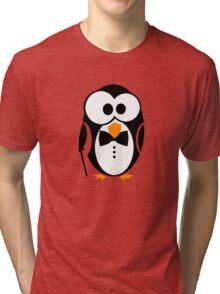 Sir Penguin Tri-blend T-Shirt