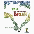 FIFA World Cup Brazil 2014 by Vidka Art