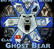 Clan Ghost Bear Recruitment Poster by CGBCoffiNail