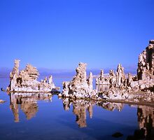 Mono Lake Reflections by Alex Cassels