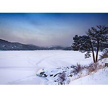Nederland Colorado Barker Reservoir Winter Scenic View' Photographic Print