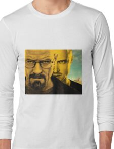 Breaking Bad - Walter & Jesse - With RV Long Sleeve T-Shirt
