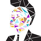 Janelle Monae Geometric by antisocialite