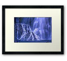 The Punchbowl Falls  Framed Print