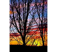 More bright sunsets Photographic Print