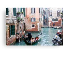 gondola time Canvas Print