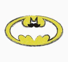 Classy Mustache Batman Kids Clothes