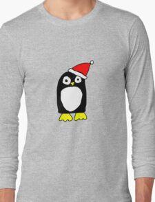 Cartoon Penguin Long Sleeve T-Shirt