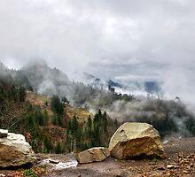 Mountain Pass by Gouzelka