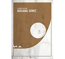 Indiana Jones Minimal Film Poster Photographic Print