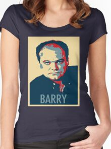 Barry from 'EastEnders' Women's Fitted Scoop T-Shirt