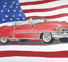 52 Cadillac Convertible by Eva  Ason