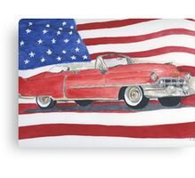 52 Cadillac Convertible Canvas Print