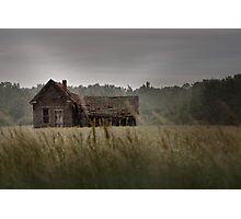 Abandoned in the Rain Photographic Print
