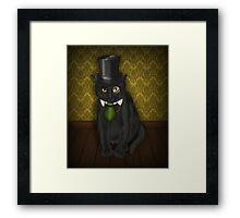 Bow-Legged Gentleman Framed Print