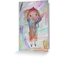Child's light Greeting Card