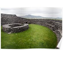 Cahergall Stone Fort Poster