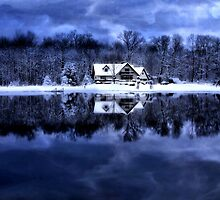 Home In Winter by Kathy Weaver