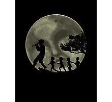Piper, Under Full Moon Photographic Print
