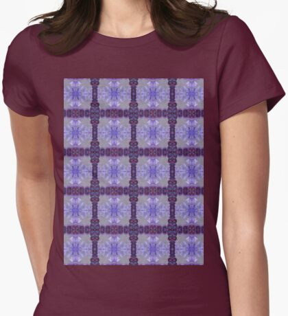 grey suns and circles Womens Fitted T-Shirt