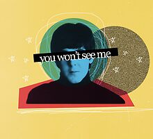 Paul McCartney - You Won't See Me by kaliemazoo