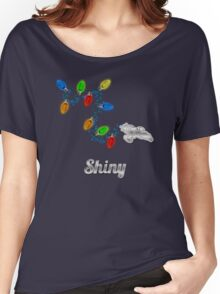 Tis the season to be Shiny Women's Relaxed Fit T-Shirt