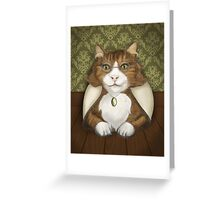 Grand-mère Chat Greeting Card