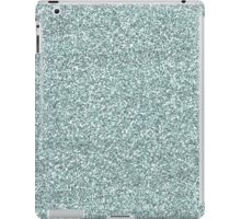 BABY BLUE GLITTER iPad Case/Skin