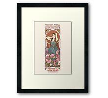 The little rose Framed Print