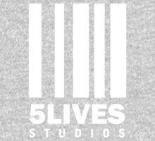 5 Lives Studios White Kids Tee