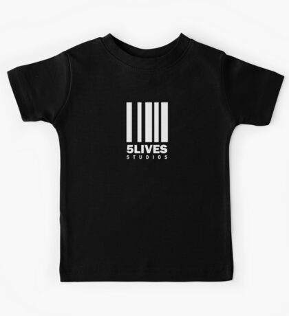 5 Lives Studios White Kids Tee