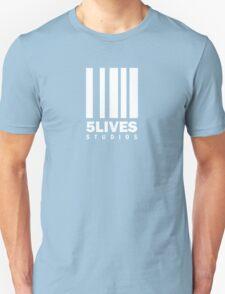 5 Lives Studios White Unisex T-Shirt