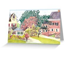 Plein Air Moleskine 2013 Woodburn Greeting Card