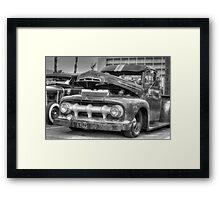 Classic Motor Framed Print