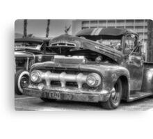 Classic Motor Canvas Print